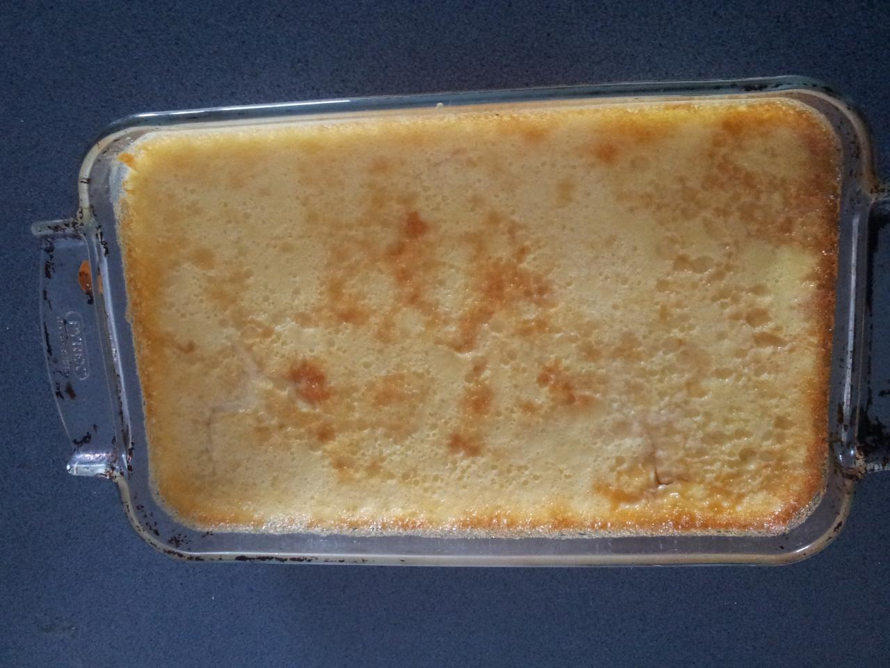 Crème aux oeufs et au caramel