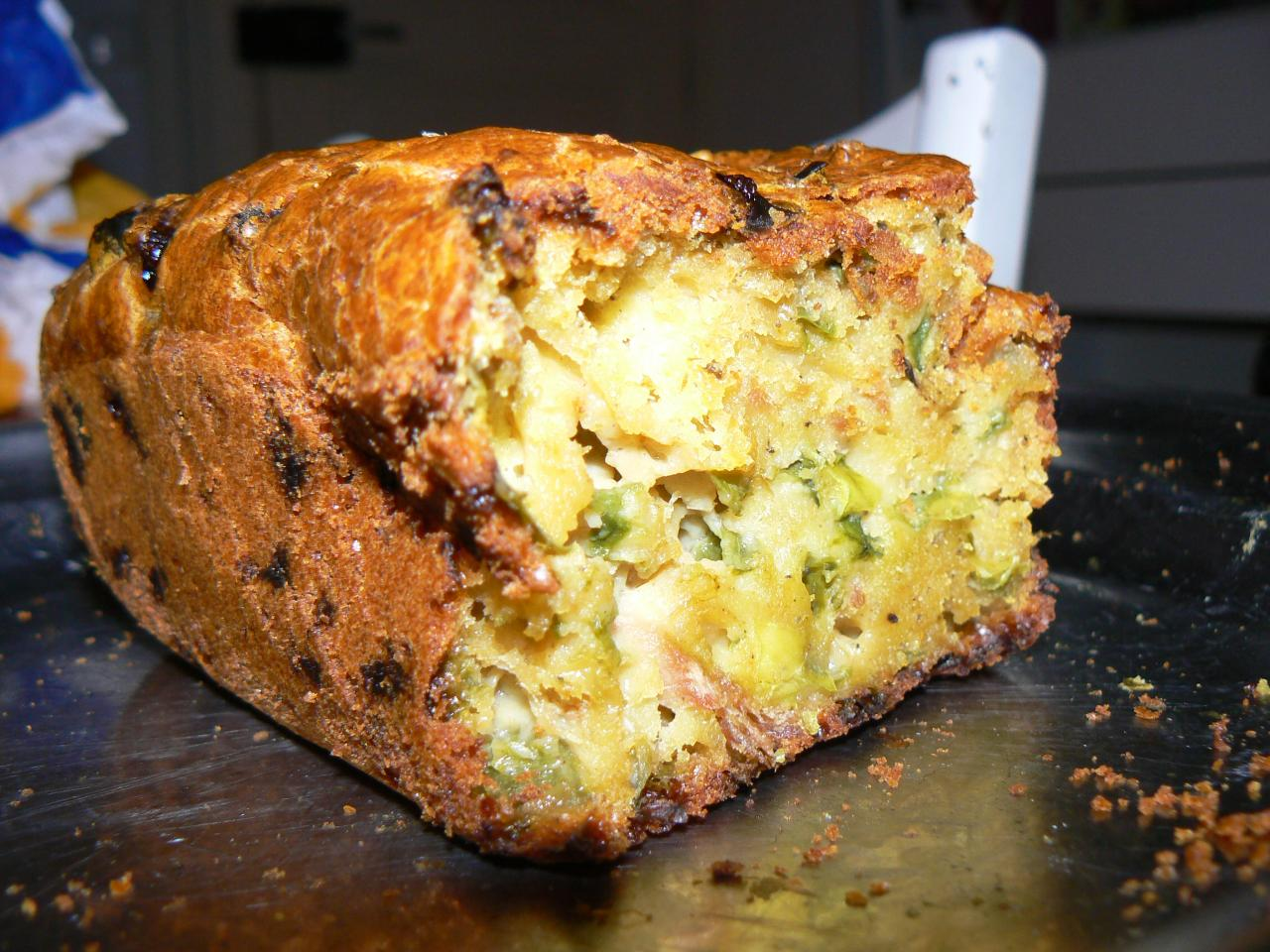 Cake aux poivrons